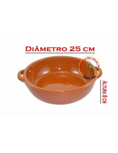 Caçarola de Barro com Asas Nº4 Vaisselle Terre Cuite