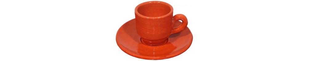 Chávenas de Barro para Café